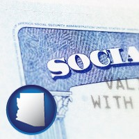 arizona a Social Security card