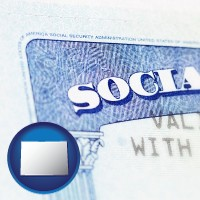 colorado a Social Security card