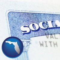 florida a Social Security card