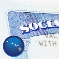 hawaii a Social Security card