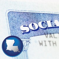 louisiana a Social Security card