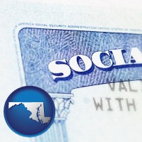 maryland a Social Security card