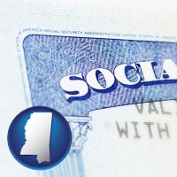 mississippi a Social Security card