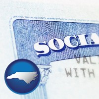 north-carolina a Social Security card