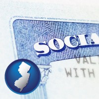 new-jersey a Social Security card