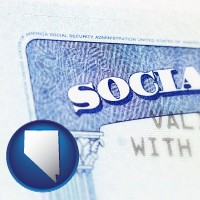 nevada a Social Security card