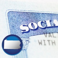 pennsylvania a Social Security card