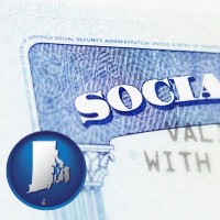 rhode-island a Social Security card
