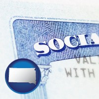south-dakota a Social Security card